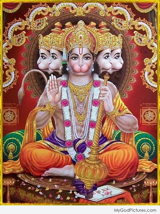 lord hanuman ji god pictures