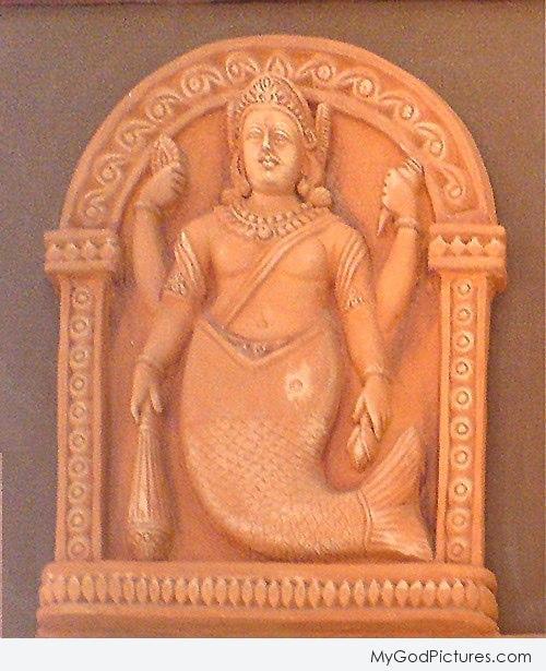 Statue Of God Matsya Ji