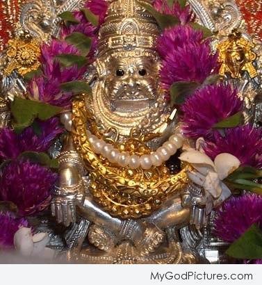 Statue Of God Narasimha Ji