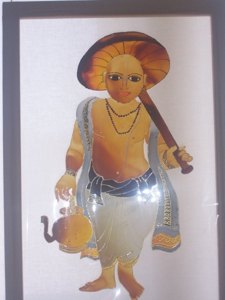 Beautiful Lord Vamana Painting