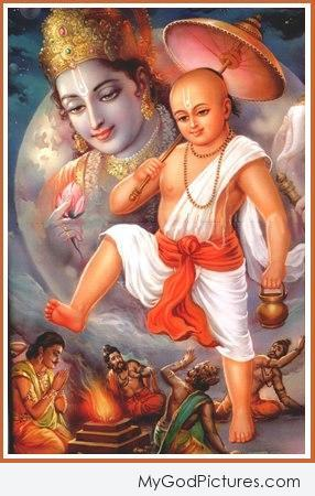 Beautiful Picture Vamana Ji