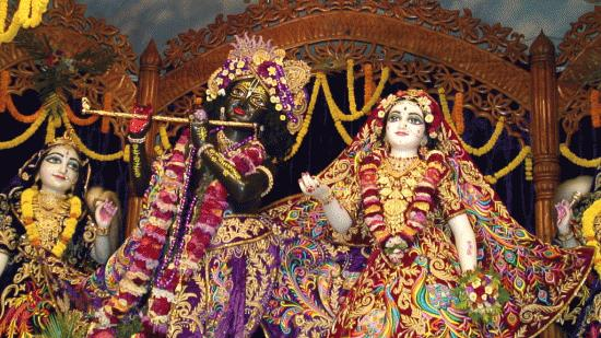 God Krishna And Radha