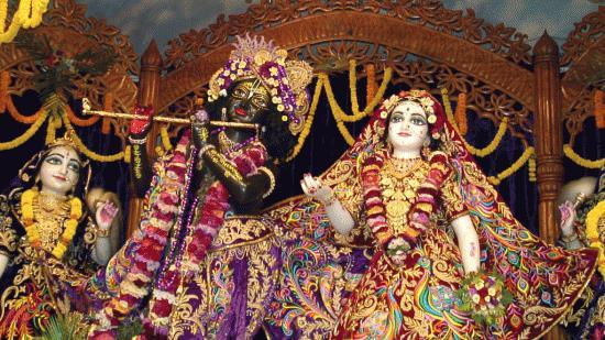 God Krishna And Radha