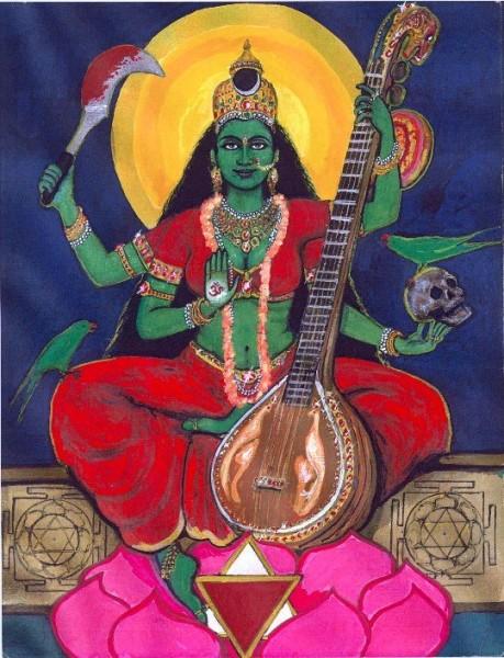 Mahavidya Nila Saraswati Ji
