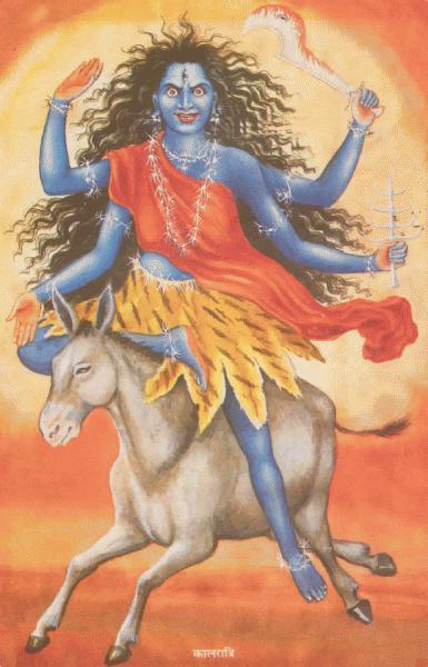 Goddess Kalratri Ji – Maa Durga Seventh Avatar