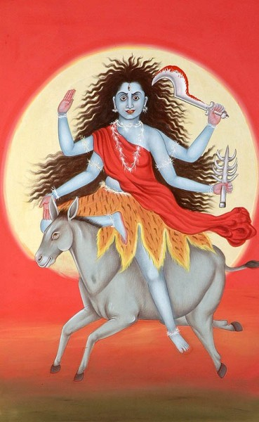 Mata Kalratri Ji – Maa Durga Seventh Avatar