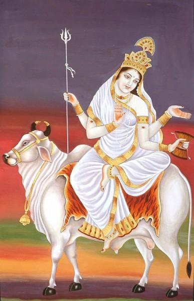 Hindu Goddess Mahagauri Ji – Maa Durga Eighth Avatar