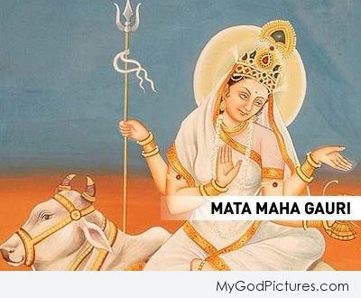 Jai Maa Mahagauri Ji – Maa Durga Eighth Avatar