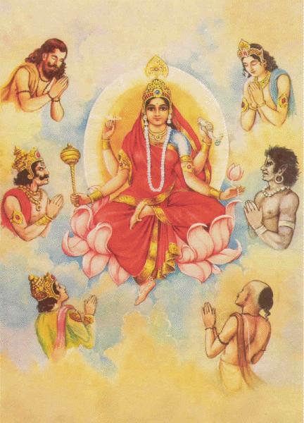 Siddhidatri Maa Ji – Maa Durga Ninth Avatar