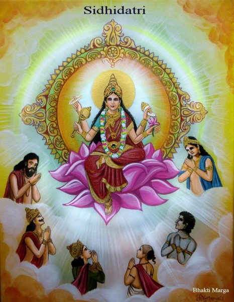 Hindu Goddess Siddhidatri Ji – Maa Durga Ninth Avatar