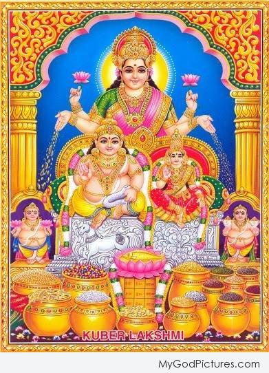 Happy Dhanteras – Lord Kuber Ji And Mata Lakshmi Ji