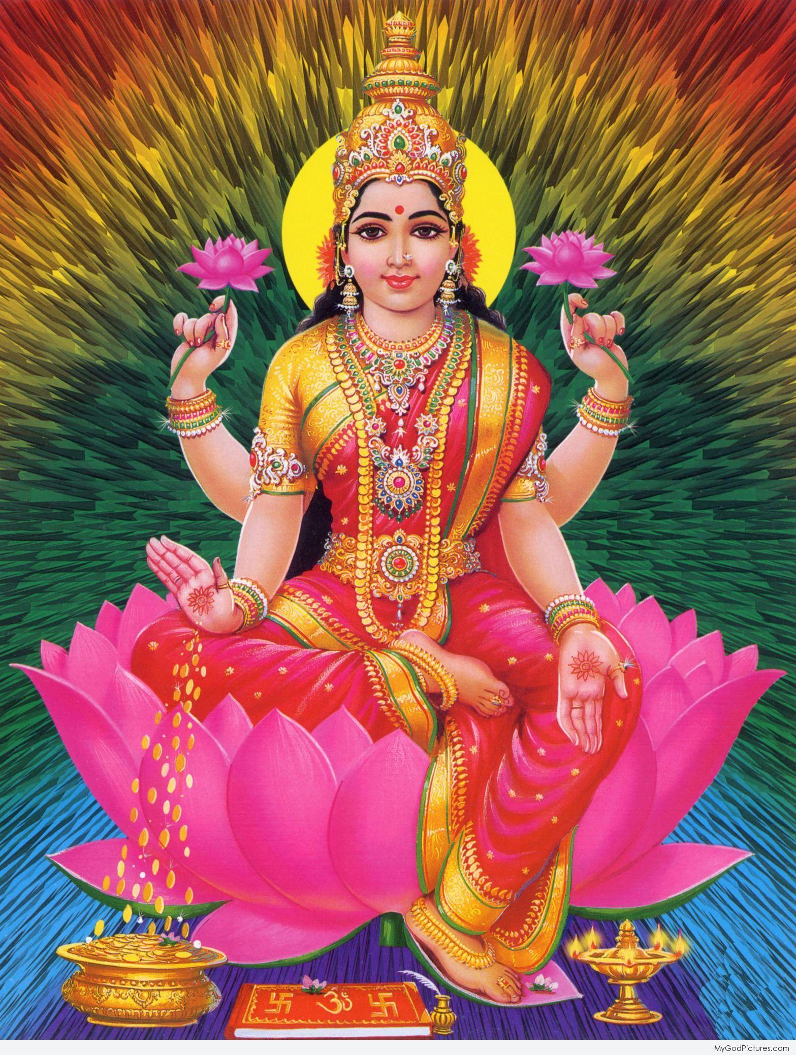 Hindu goddess mata lakshmi ji god pictures - Images of hindu gods and goddesses ...