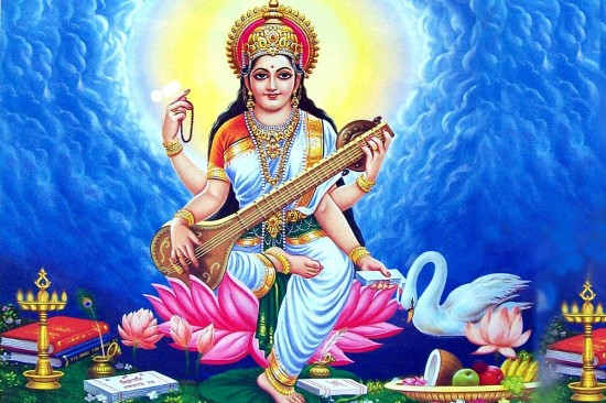 Mata Saraswati – Goddess Of Art And knowledge