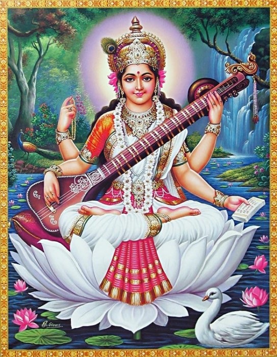 Maa Saraswati – Goddess Of Music