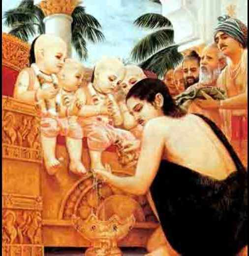 Bhagwan Sankadi In Childhood