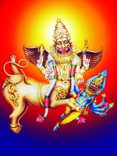 God Of Hindus Sharabha Ji