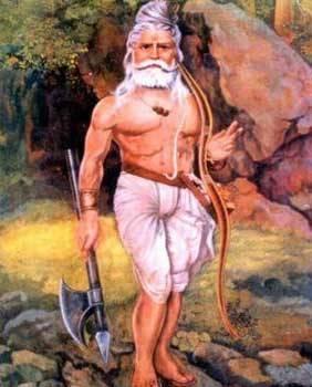 Lord Ashwatthama  Ji In Standing Pose