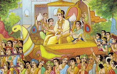 Lord Rishabh devs Initiation