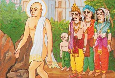 Lord Rishabh devs life as a Sadhu