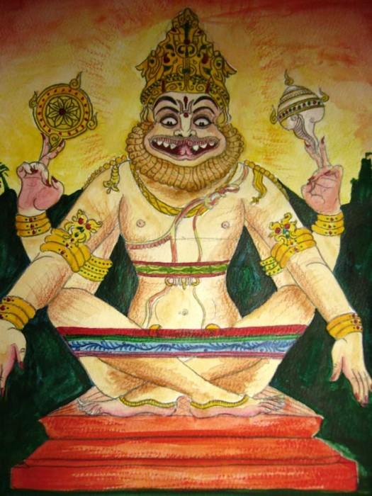 Lord Sharabha Ji Avtar of shiva Ji