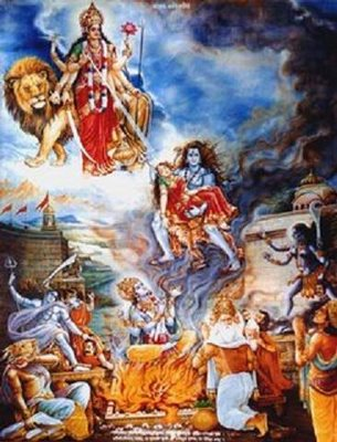 Lord Veer Bhadra And Daksha Yagna