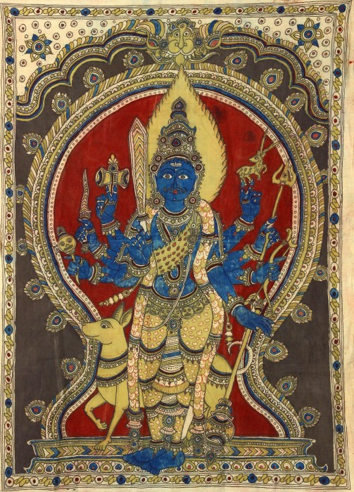 Lord Veera Bhadra Ji In Standing Pose
