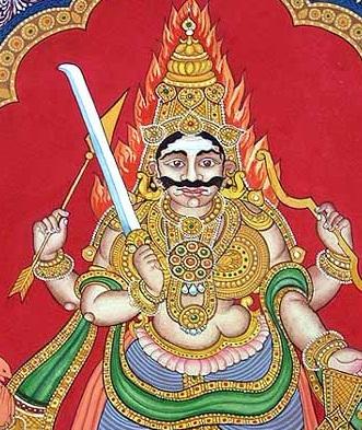 Lord Veera Bhadra Ji Picture