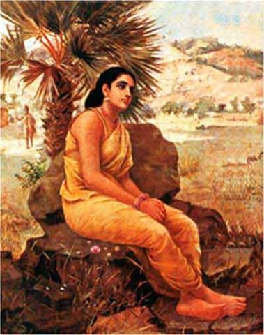 Maharishi Durvasa Ji In Sitting Pose