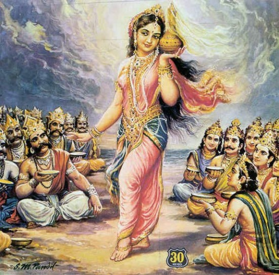 Mohini Avtar Of Vishnu Ji