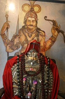 Moorti Of Lord Veera Bhadra Ji