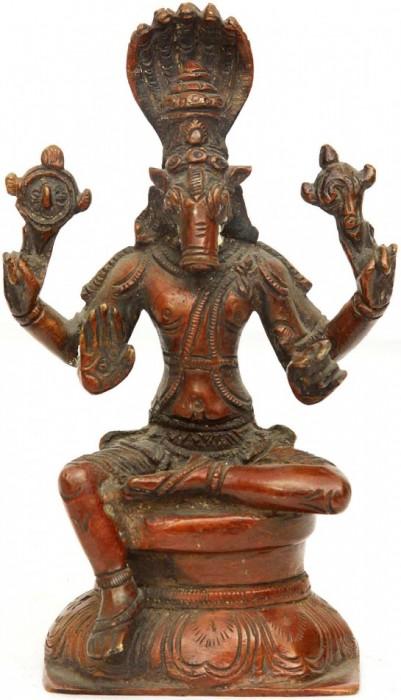 Old Statue Of Bhagwan Hayagreeva Ji