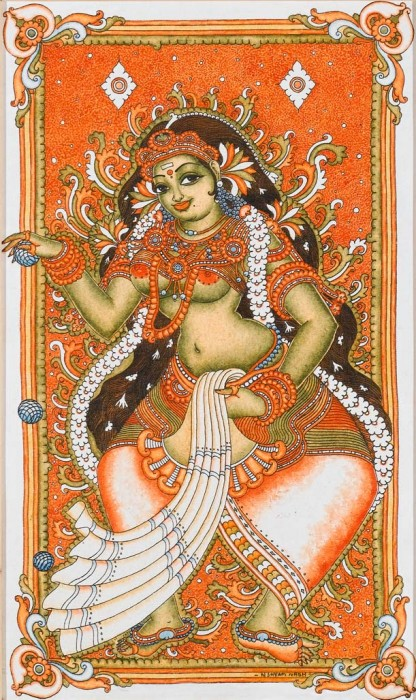 Painting Of Lord Mohini