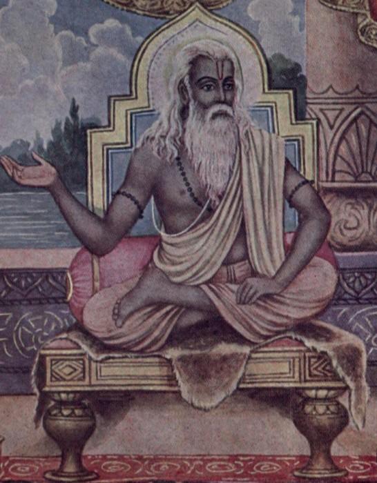 Pracheen Image Of Lord Vyasa Ji