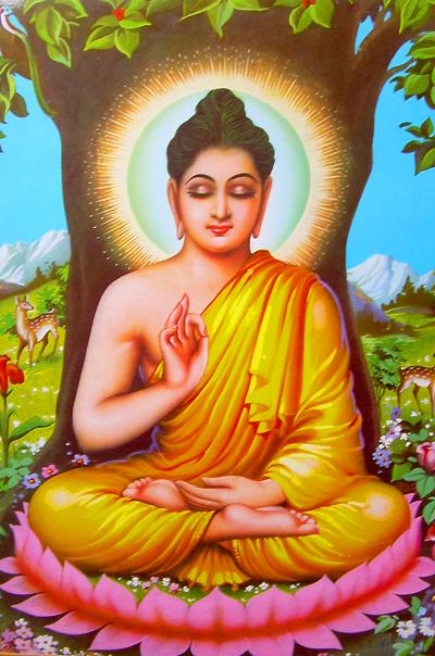 Shri Vishnu Ji Avatar-Lord Buddha Ji
