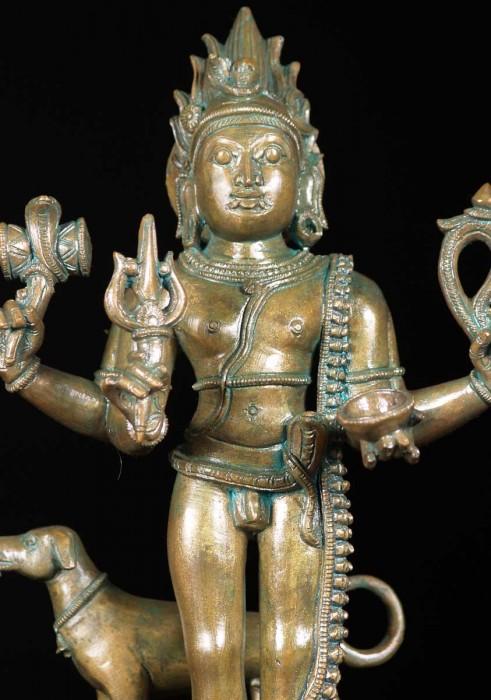 Statue Of Bhagwan Bhairav Ji