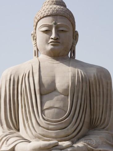 Statue Of Buddha at Bodhgaya