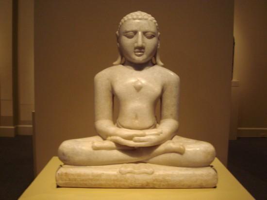 Statue Of Lord Rishabh