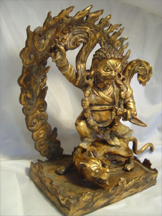 Statue of Bhagwan Nakoda Bhairav Ji