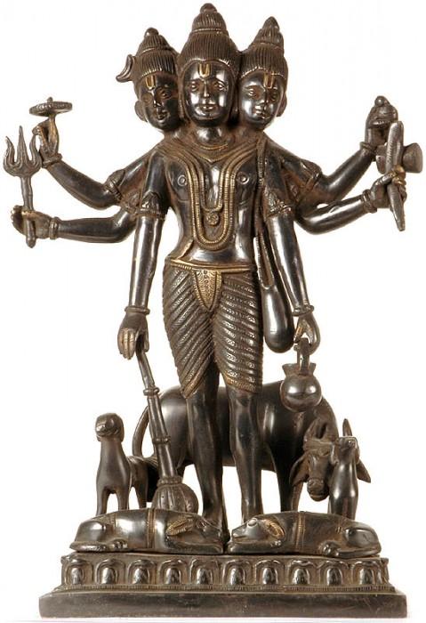 Moorti Of Shri Dattatraya Ji