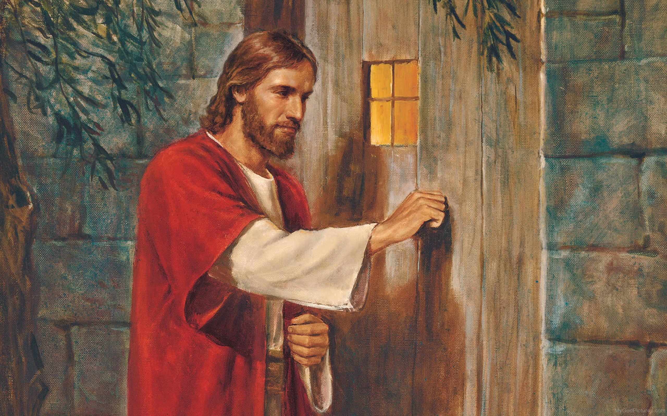 Lord jesus god pictures for Jesus a porta