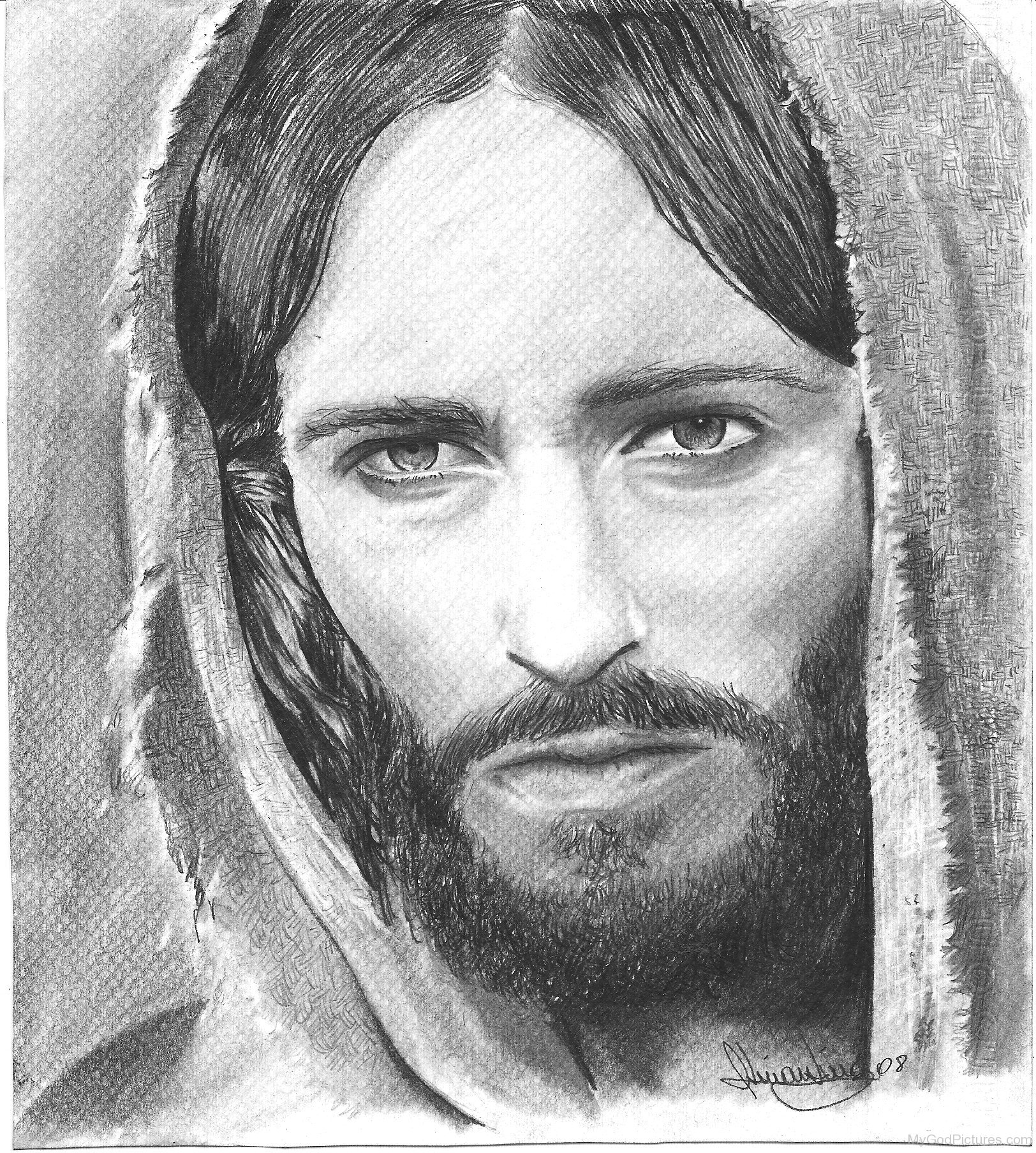 Pencil Drawings: Pencil Drawings Of Jesus Christ