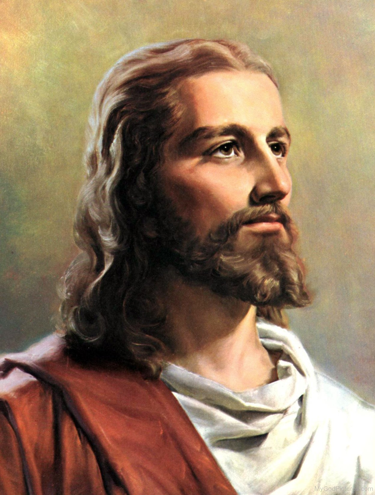 Jesus Christs face recreated using Semite skulls by