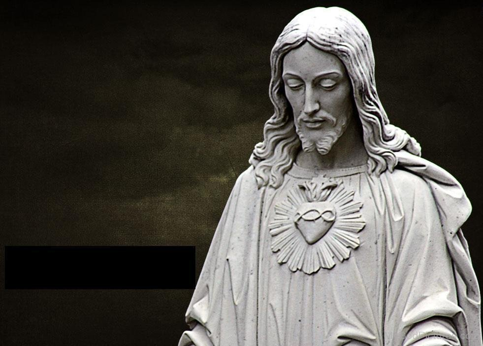 Jesus statue wallpaper