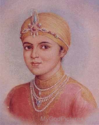 Childhood Image of Guru Har Rai Ji