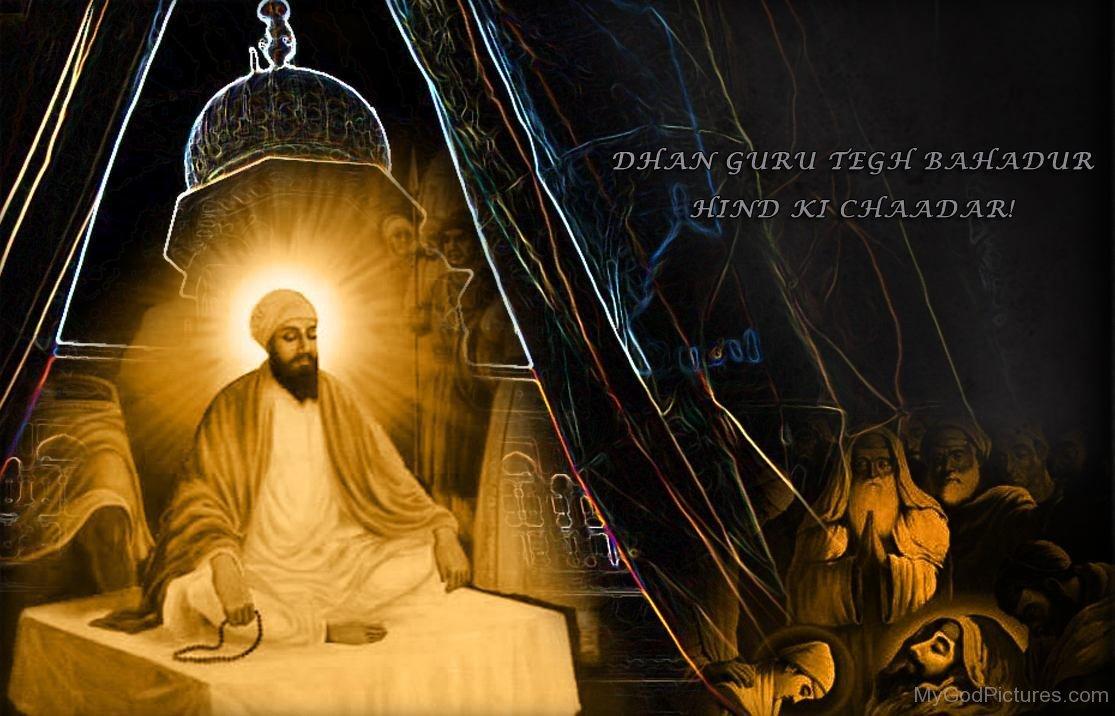 guru tegh bahadur ji god pictures