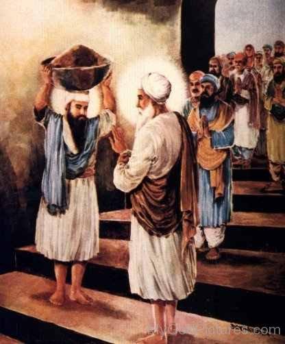 Guru Amar Das Ji Blessing to Guru Ram Das Ji