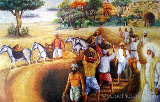 Guru Amar Das Ji Constructed A Baoli Well At Goindwal Sahib