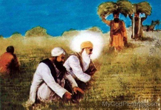 Guru Angad Dev Ji Working With guru Nanak Dev Ji