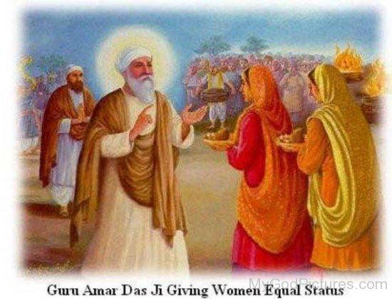 Guru amar Das Ji Giving Women Equal Status