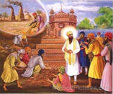 Guru Ram Das Ji With Bhai Behilo